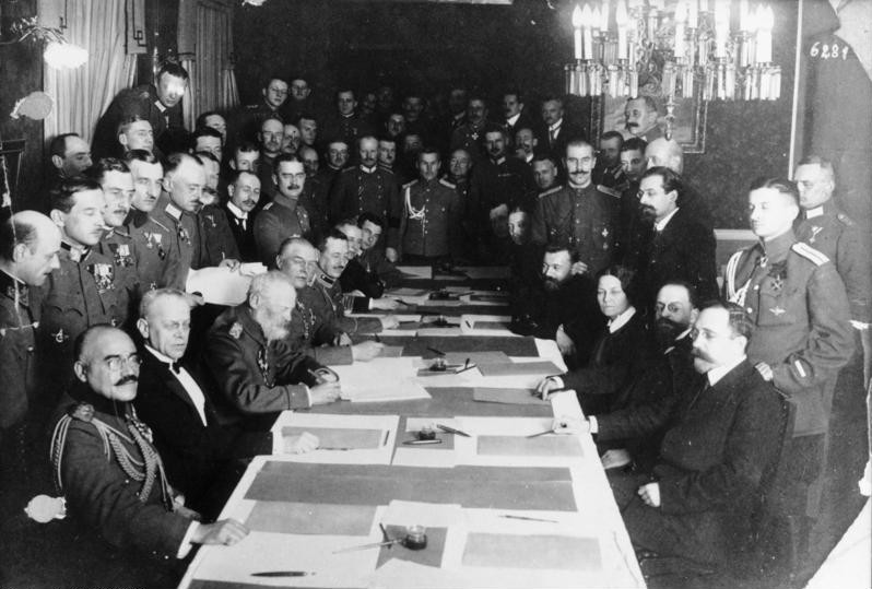 The Peace Treaty of Brest-Litovsk