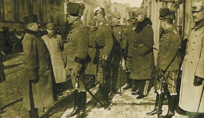 When Bucharest was under occupation. The beginning
