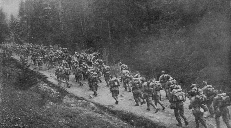 The Romanian Army upon entering the First World War